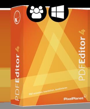 Boxshot: PdfEditor Netzwerklizenz (Windows)