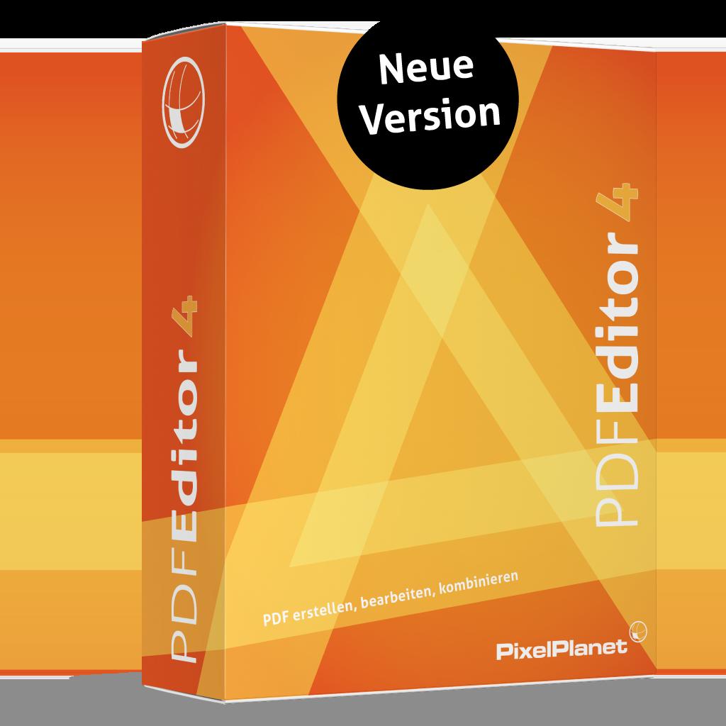 PdfEditor 4.0 - Neue Version