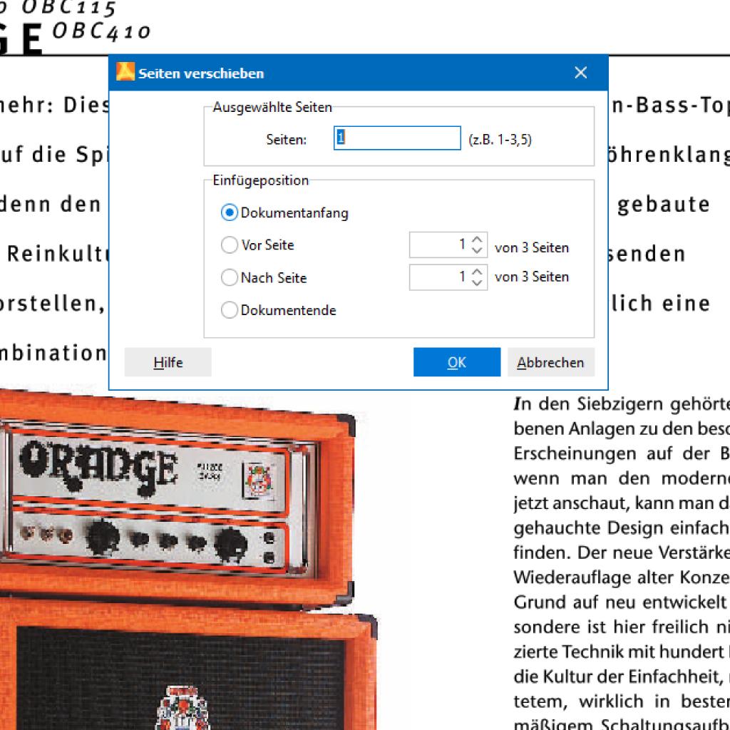 Screenshot (Zoom): Seiten im PDF verschieben mit PdfEditor