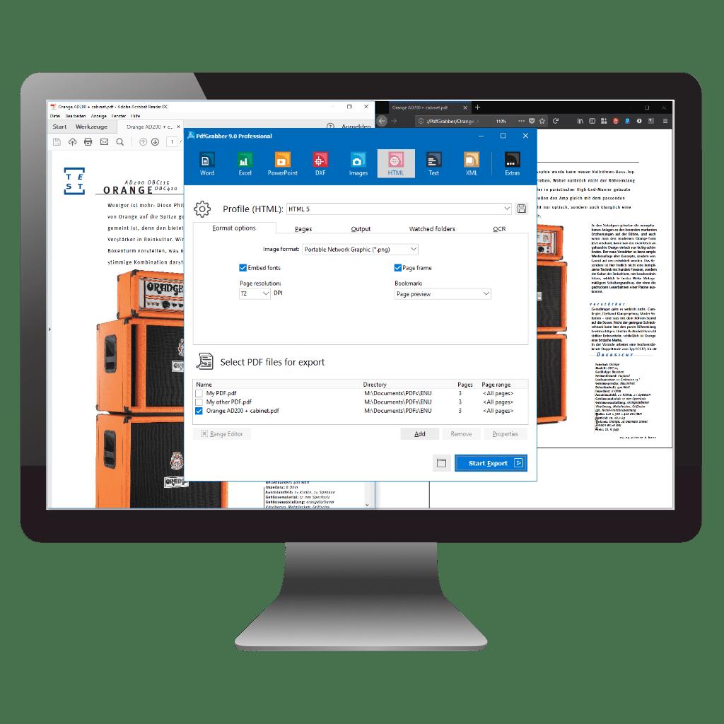 Comparision: Convert PDF to HTML